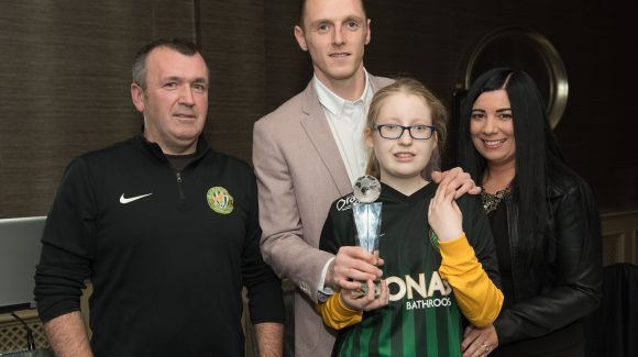 Peter Cherrie is Player of the Year