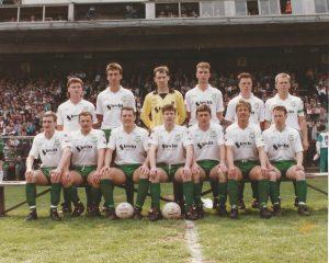 Bray Wanderers FAI Cup winners 1990