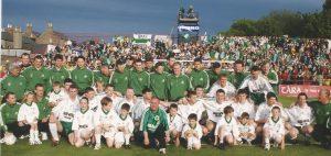 Bray Wanderers FAI Cup winners 1999