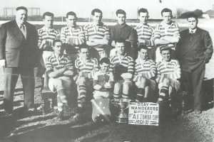Bray Wanderers FAI Junior cup winners 1950-51