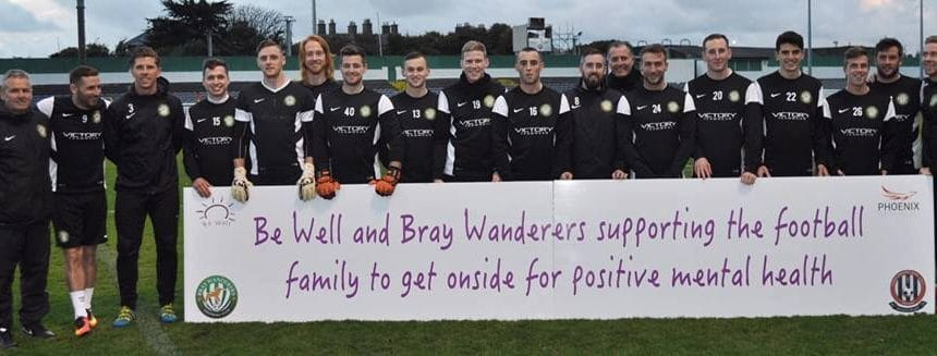 Bray Wanderers help to promote Positive Mental Health
