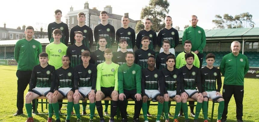 Under 19s match report v. Shamrock Rovers