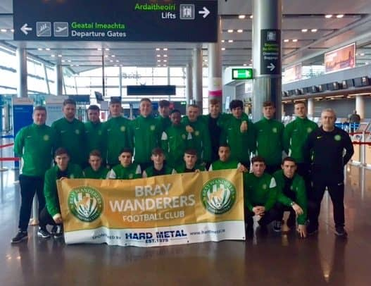 Under 19s pre season trip to England