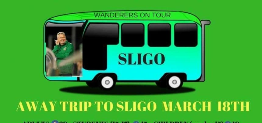 Supporters bus to Sligo