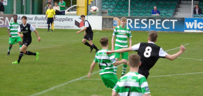 Under 17 match report v. Shamrock Rovers