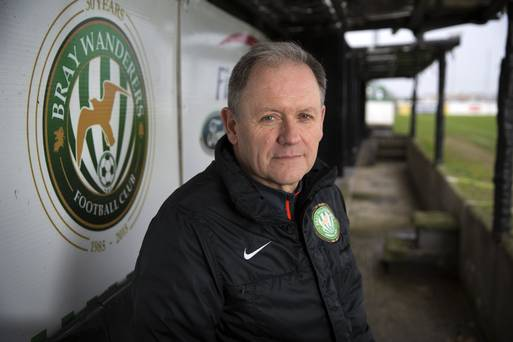 Dave Mackey resigns as Bray Wanderers FC manager
