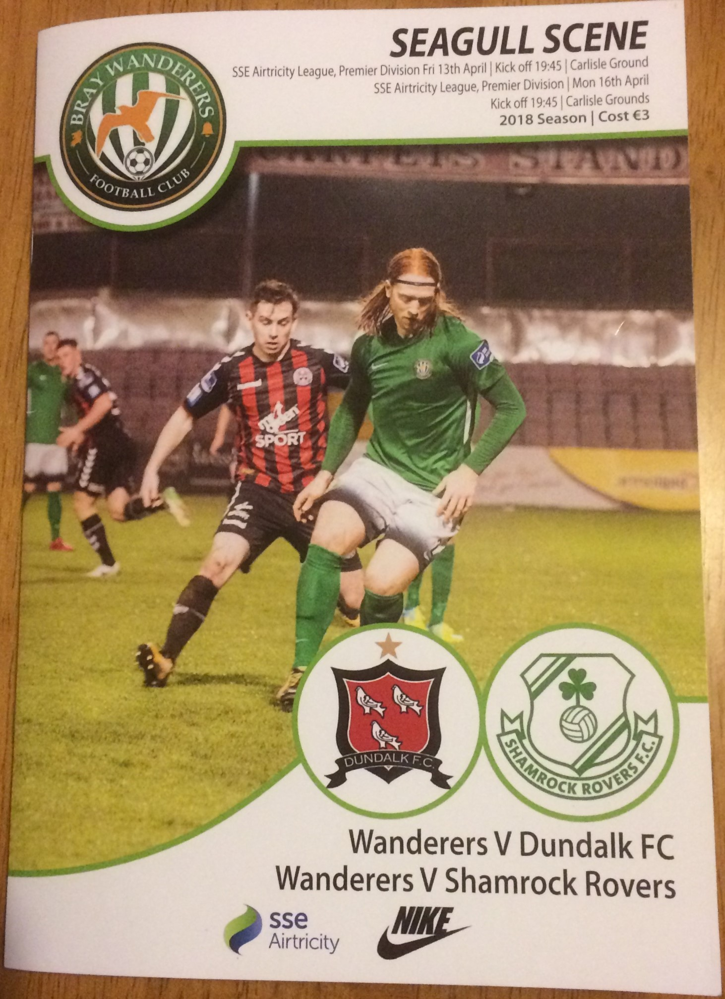 Dundalk Shamrock Rvs April 2018