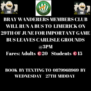 Supporters bus to Limerick