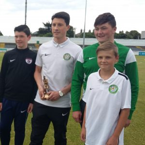 May player of the month presentation