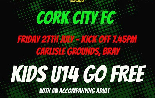 Free admission for under 14s to Cork game