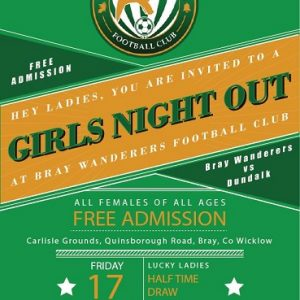 Free entry to Dundalk match for all Girls