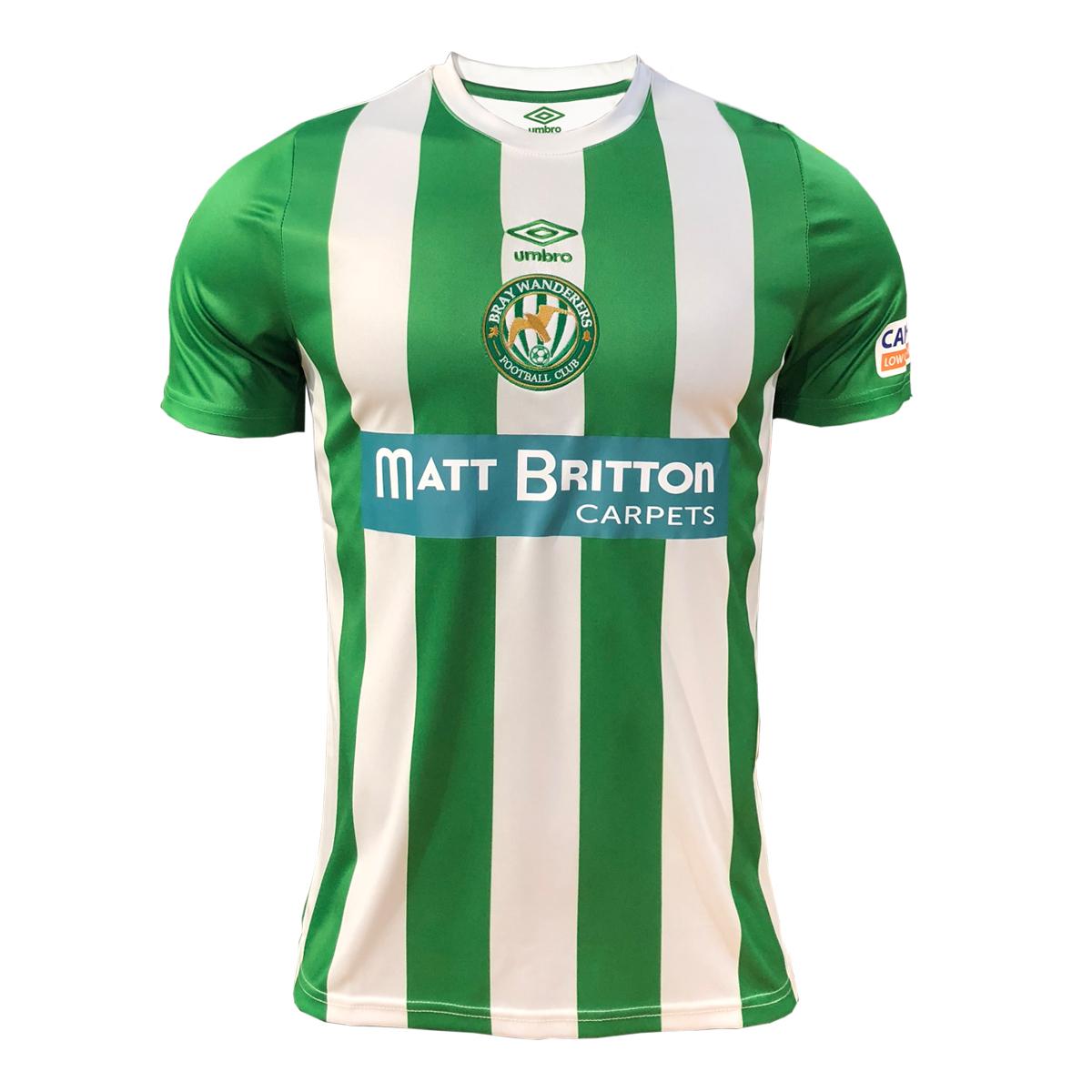 e5b86cbf41cdb OFFICIAL 2019 HOME JERSEY - Bray Wanderers FC