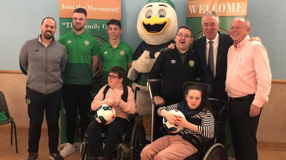 "Bray Wanderers unveil its ""Access Is For All"" inclusion Programme"