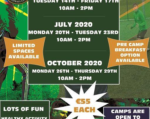 2020 Soccer Camp details