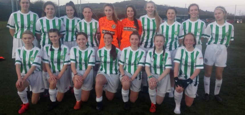 Ladies under 17s reach Shield final