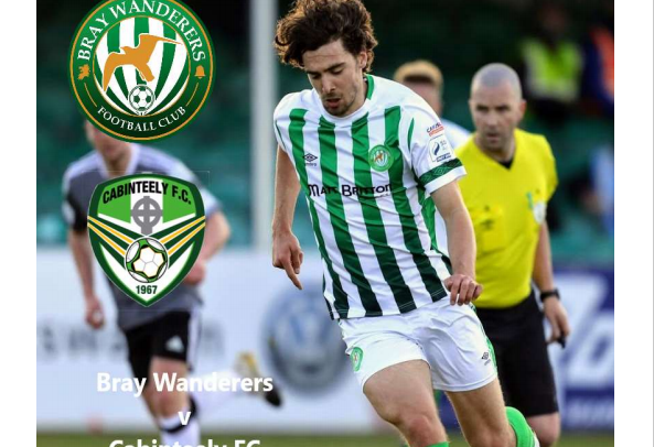 Free Matchday programme v. Cabinteely FC
