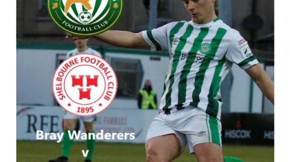 Free Matchday programme v. Shelbourne