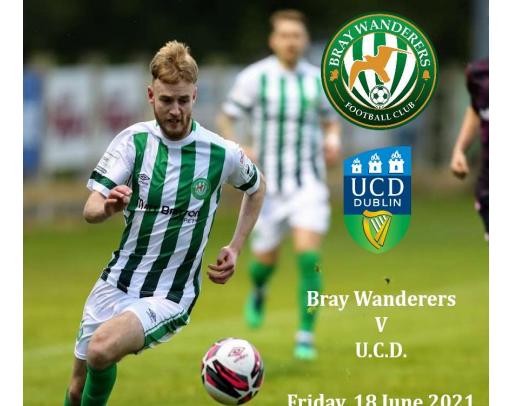 Free Matchday programme v. UCD