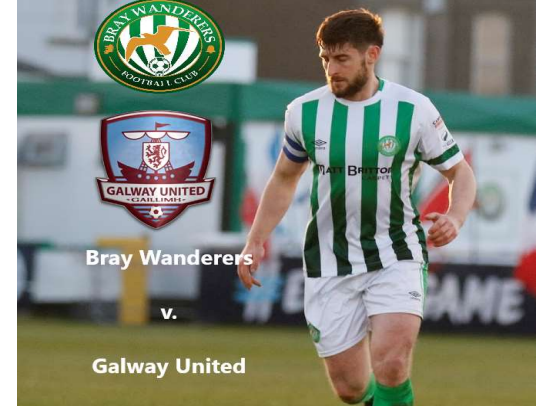 Free Matchday programme v. Galway United
