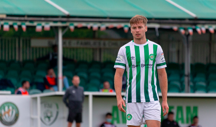 Joe Doyle delighted to be among the goals as Bray make it three unbeaten