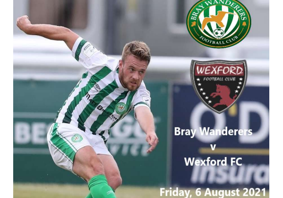 Free Matchday programme v. Wexford FC