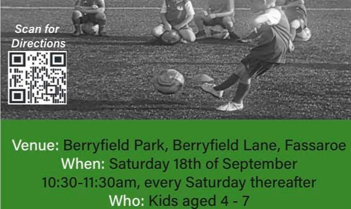 Bray Wanderers and Enniskerry Youth Club AFC launch of The Seagulls Academy
